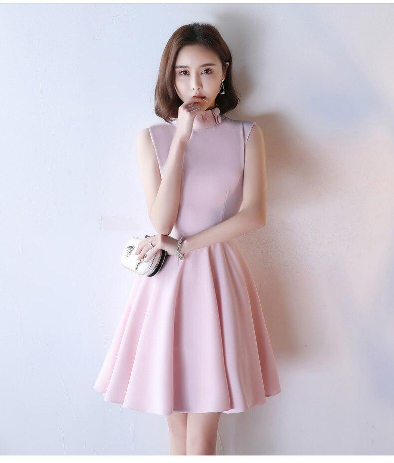HTB1X00oSpXXXXb6aFXXq6xXFXXXk - Pink Short Homecoming Dresses Junior Party Dresses JKP066