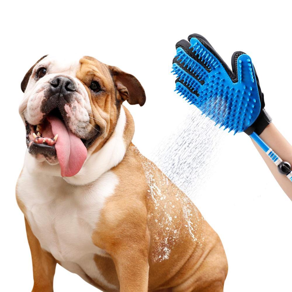 Shower Dog Pet Shower Head Handheld Cat Bathing Shower Tool For Pets Hot Dog  Sprayer Bathing Glove 360 Washing Hair Long Hose Bath Sprayers  - AliExpress