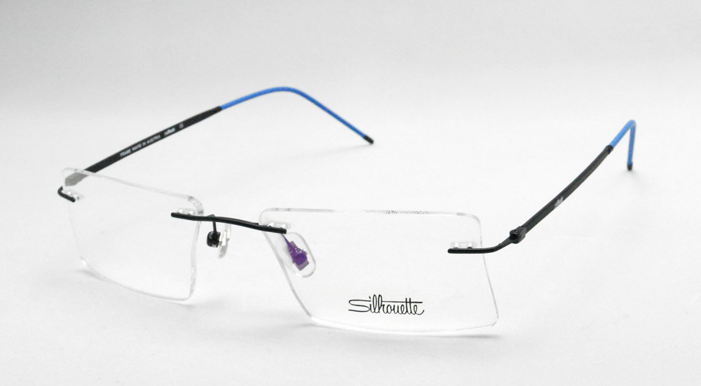 Eyeglass Frame Color For Green Eyes : Rimless eyes glasses titanium eyeglasses priscription ...
