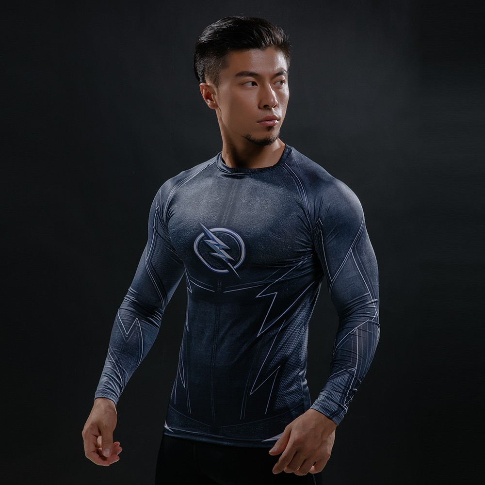 Punisher 3D Printed T-shirts Men Compression Shirts Long Sleeve Cosplay Costume crossfit fitness Clothing Tops Male Black Friday 49