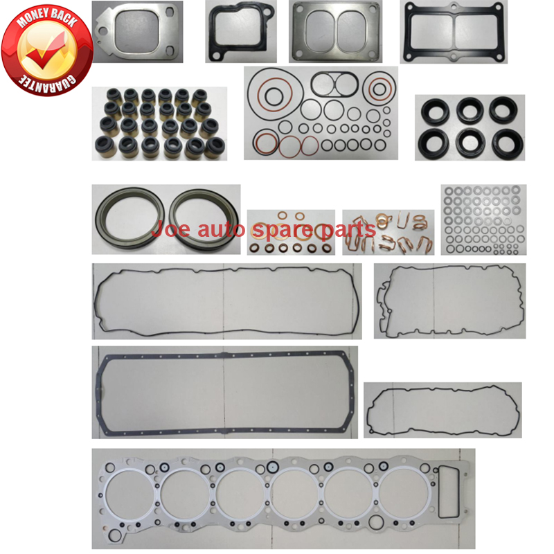 Back To Search Resultsautomobiles & Motorcycles Faithful 6wf1 6wf1-o2 Engine Full Gasket Set Kit For Hino Fuso Truck Isuzu Giga 14.256cc To Win A High Admiration