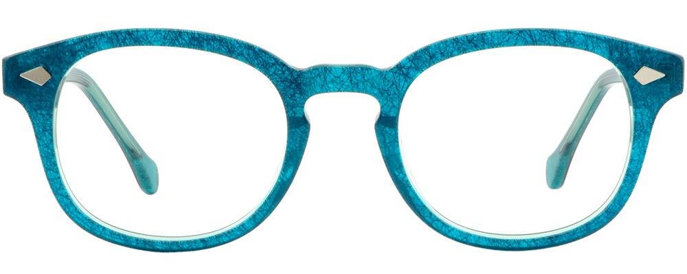 2aa0967e1a Women Plastic Frames Acetate Prescription Eyeglasses Silver Pieces ...