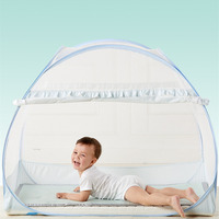 Crib Mosquito Netting Yurt Children Bed Nets Tent Cover Folding Kids Canopy Multi function Baby Cot Camping Tents chambre enfant