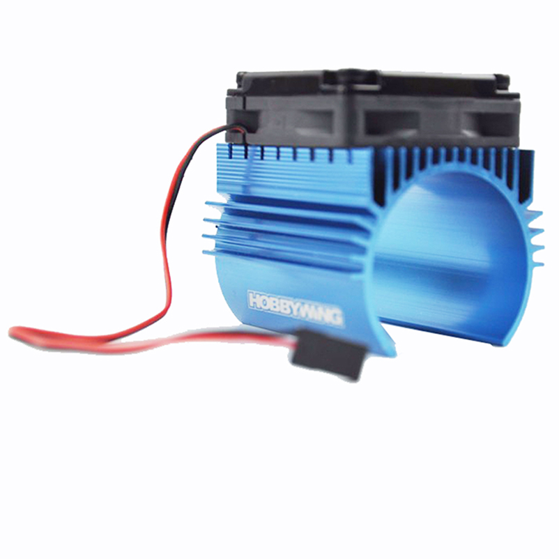 Hobbywing 2S And Motor Combination Motor Heat Sink+C1 5V Fan  For EZRUN 3660 3665 3674 RC Racing Car Brushless Motor