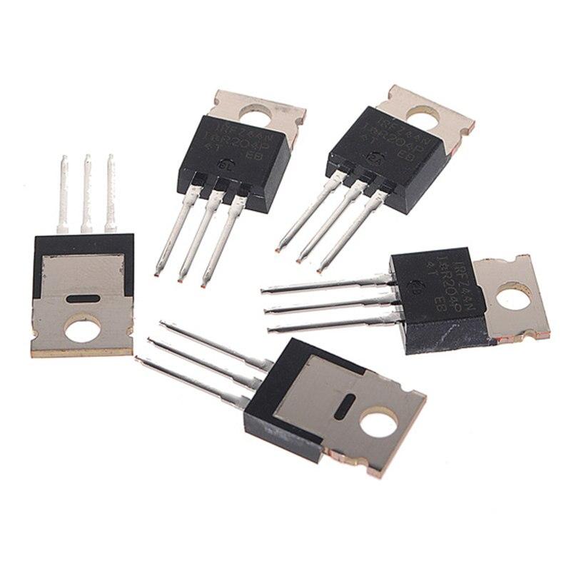 5Pcs IRFZ44N IRFZ44 N-Channel 49A 55V Transistor MOSFET