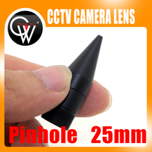 New 25mm lens Tip cone Metal CCTV lens M12 cone micro lens for cctv camera