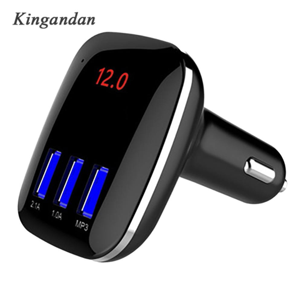Bluetooth FM Transmitter Wireless Car Kit Radio Adapter USB Charger Mp3 Player