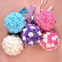 Wedding Decoration 25cm Handmade Wedding Festival Supplies Wholesale Wedding Bouquet Decoration Supplies Foam Flower