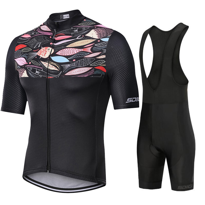Maillot NEW abbigliamento ciclismo estivo 2019 cycling clothing kits short sleeve bib shorts men 39 s summer maillot ciclismo sets in Cycling Sets from Sports amp Entertainment