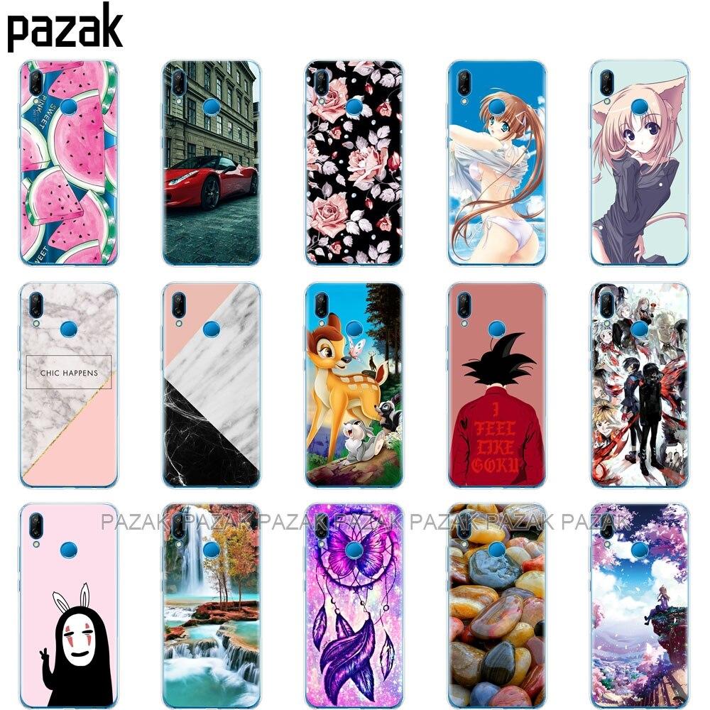 100% Kwaliteit Silicone Telefoon Case Voor Huawei P20 Lite Case Cover Voor Huawei P20 Pro Case Back Cover Voor Huawei P 20 Lit Coque Etui Clear Pop Speciale Kopen