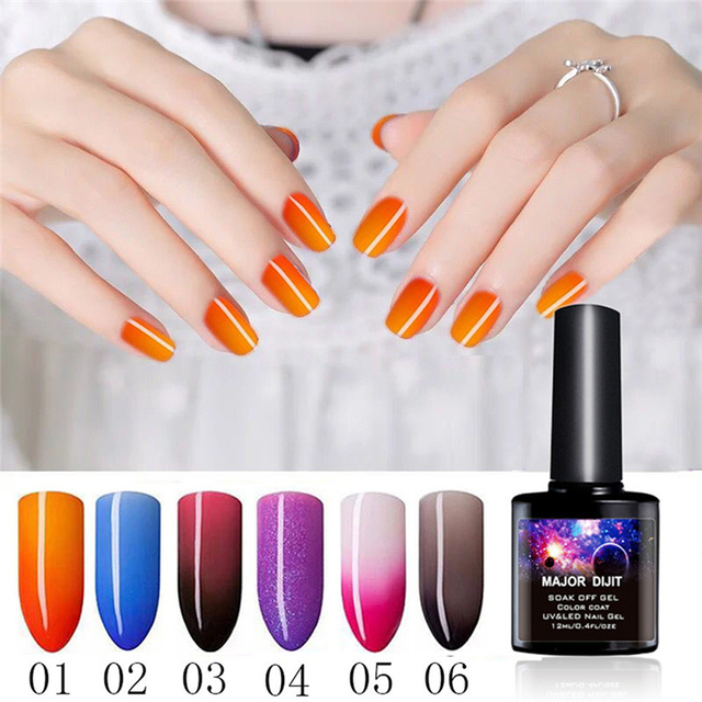 12ml Long Lasting Temperature Change Gel Nail Polish Art Uv Led Nails