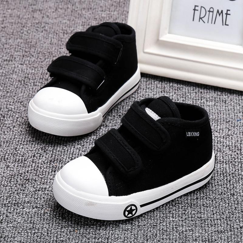Buty dziecięce białe płótno 4 kolory dla dzieci Dziewczynki i - Buty dziecięce - Zdjęcie 4