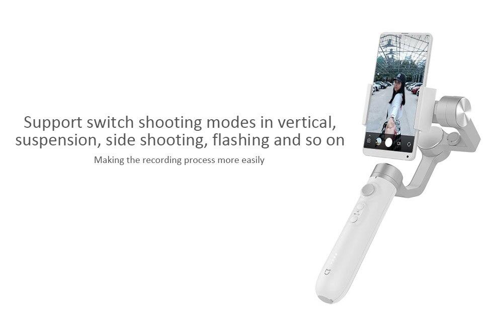 Xiaomi Mijia GH2 3 axes stabilisateur de cardan à main pour Xiaomi 4K Sport Action caméra et téléphone stabilisateur VS Feiyu Tech ZHI YUN - 4