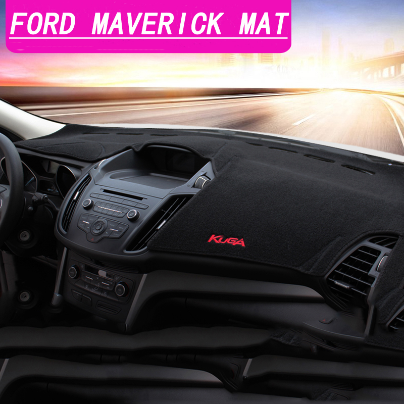 US $18 6 38% OFF|Car Dashboard Avoid light Pad Instrument Platform Desk  Cover Mats Carpets LHD For Ford Kuga Escape 2013 2014 2015 2016 2017  2018-in