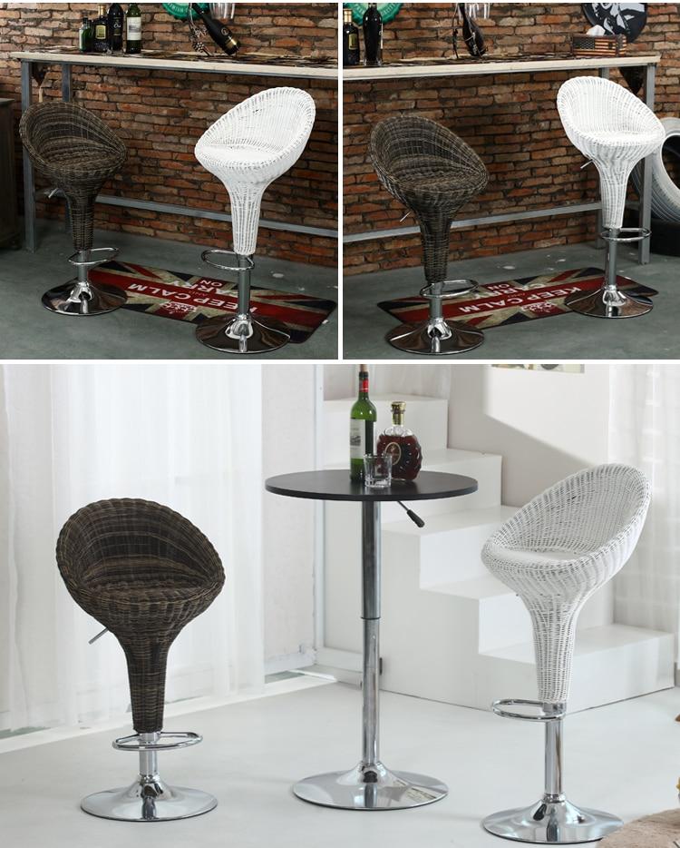 Rattan Office Chair