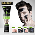 Men Black mask face head acne maske 60ml blackhead removedor facial masque points noirs remover charcoal peel off masker
