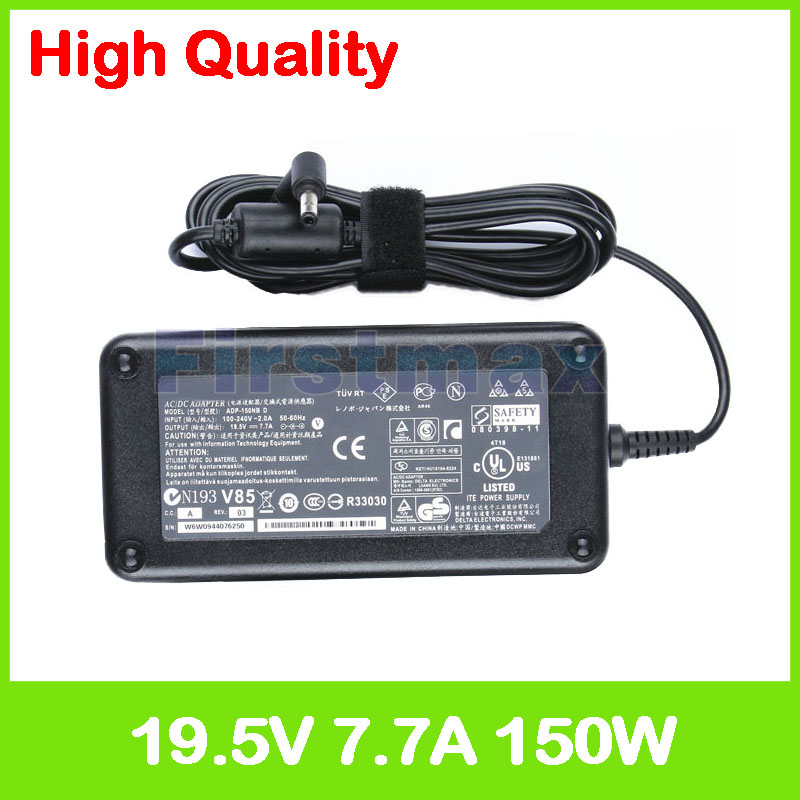 19.5V 7.7A 150W laptop AC power adapter charger ADP-150NB D for Asus G53 G53GW G53J G53JH G53JQ G53JW G53JX G53S G53SV G53SW
