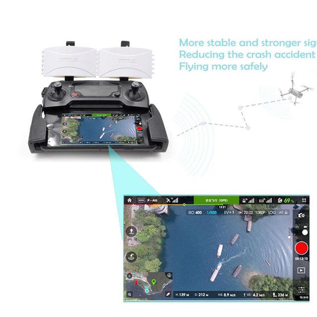 DJI Mavic 2 Pro / Zoom /Mavic Pro drone Controller Signal Booster Range Extender Foldable Parabolic Antenna For DJI drone parts