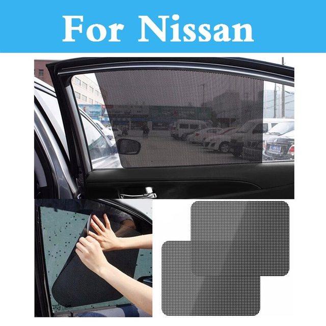 Auto Sun Visor Car Window Curtain Sun Shade Covers For Nissan Altima Armada  Avenir Juke Nismo 350z 370z Ad Almera Classic a8defa348df