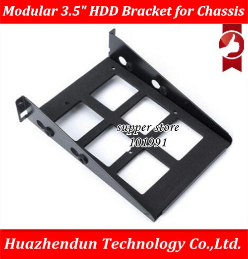 DEBROGLIE 1PCS MODULAR 3.5 HDD Bracket & 2.5 SSD Tray for Computer Case Special Purpose Hanging type hard disk