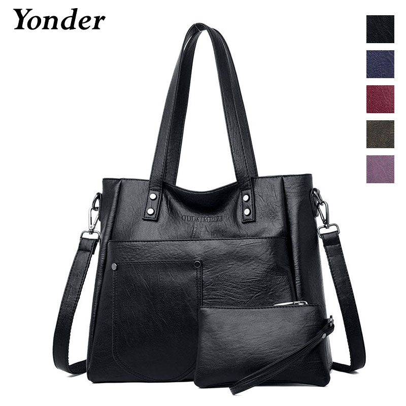 Image 2 - Yonder brand women bag genuine leather handbag ladies large tote 