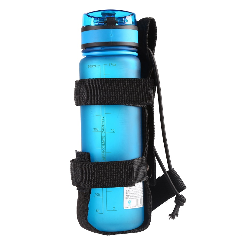 3 Colors Molle Water Bottle Cover Bag Sport Camping Hike Running Water Vacuum cup 400ml  1000ml Bottle bag Sports Bottles     - title=