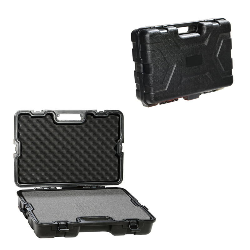 Gun Storage Case ABS Plastic Box Gun Guard Case Hunting Hard Storage Case 65x41x14.5cm Large Capacity with Foam light weight black hard abs plastic storage tool case without foam