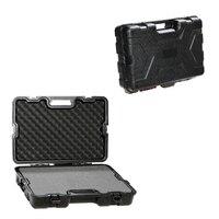 Gun Storage Case ABS Plastic Box Gun Guard Case Hunting Hard Storage Case 65x41x14.5cm Large Capacity with Foam