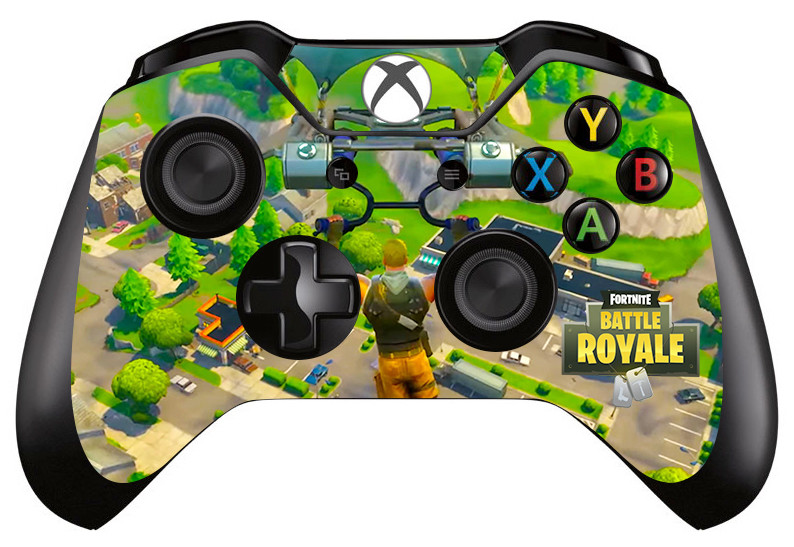 Details About 1pc 2018 Fortnite Battle Royale Skin Protector For Xbox One Controller