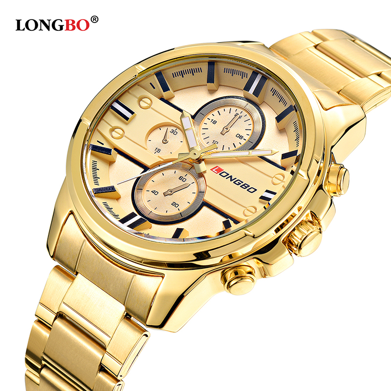 Men Stainless Steel Band Sports Quartz Watches Male Watch Wrist Clock For Men Dynamic Gold Men Watch Relogio Masculino Military clock geneva watch women digital numerals quartz gold stainless steel wrist band men s watch luxury casual quartz watches women