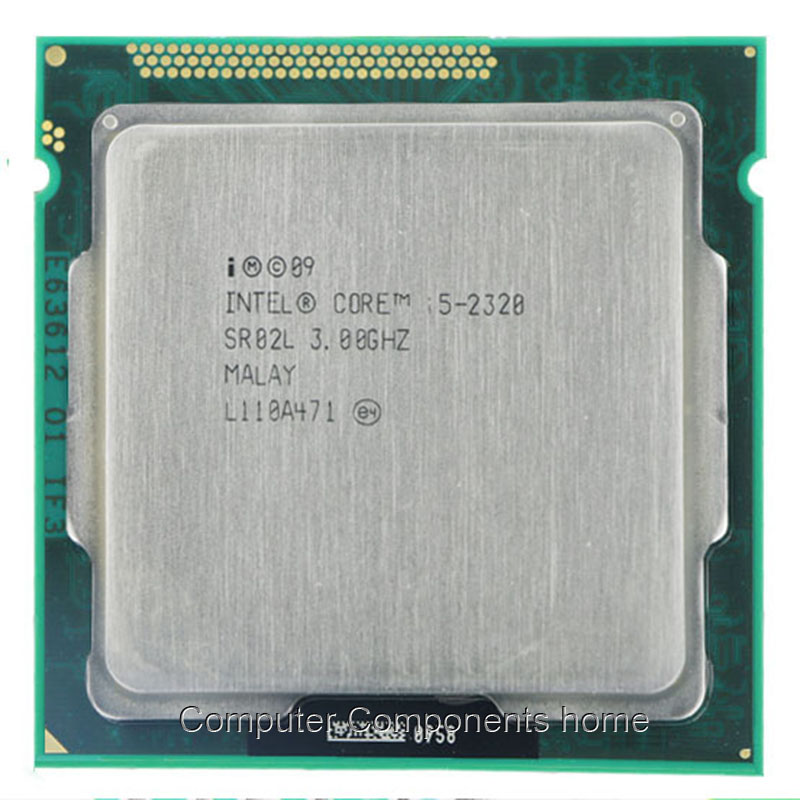 Intel Core i5-2320 I5 2320 CPU Quad-Core Processor 3.0 GHz 6 MB Cache LGA 1155