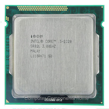 Intel Core I5-2320 I5 2320 CPU Prosesor Quad-Core 3.0 GHz 6 MB Cache LGA 1155
