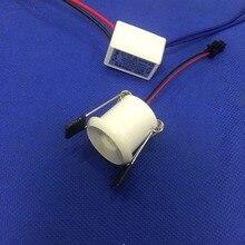 6pcs/lot diameter 30mm cob Led Cabinet white mini Spot light  1W Include Driver AC85-265V Mini downlight