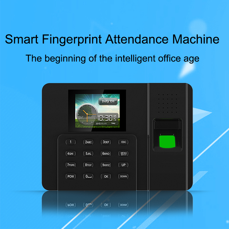 OULET Biometric Attendance System Fingerprint Reader TCP/IP USB Clock Recorder Employees Device Fingerprint Time Attendance free shipping ko h26t tcp ip biometric fingerprint time attendance time clock time recorder