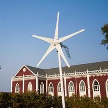 400 W generador de viento de 5 palas eólicas turbinas, 12 V/24 V generador de turbina de viento con el CE, ROHS, ISO9001 + controlador híbrido eólico/solar