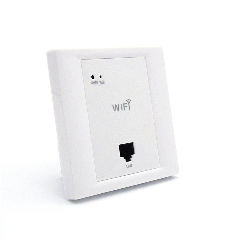 OUTENGDA 802.11b/g/n Soho WiFi Repeater Roteador Wall-embedded Access Point 86 Socket Wireless Wifi in wall AP Router Poe