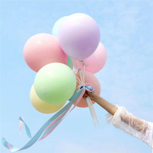 Image 2 - 30/50pcs 5incs Macaron balloons latex smal Ballons for Birthday party  decorations baby shower Wedding Grand event supplies