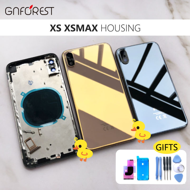 Battery-Cover-Replacement Housing Chassis Middle-Frame iPhone Xs for Max Assembly