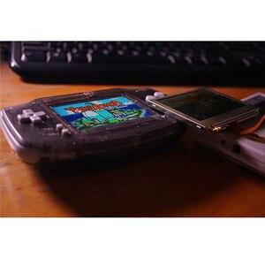 Image 5 - 10 niveaus Hoge Helderheid IPS Backlight LCD voor Nintend GBA Console Lcd scherm Verstelbare Helderheid Voor GBA Console