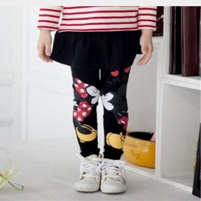 2016 New Arrival Baby Child Kids Girl Toddlers Girls Legging Skirt-Pants Children's Girls Skirt pant bootcut For 2-7Kid 1