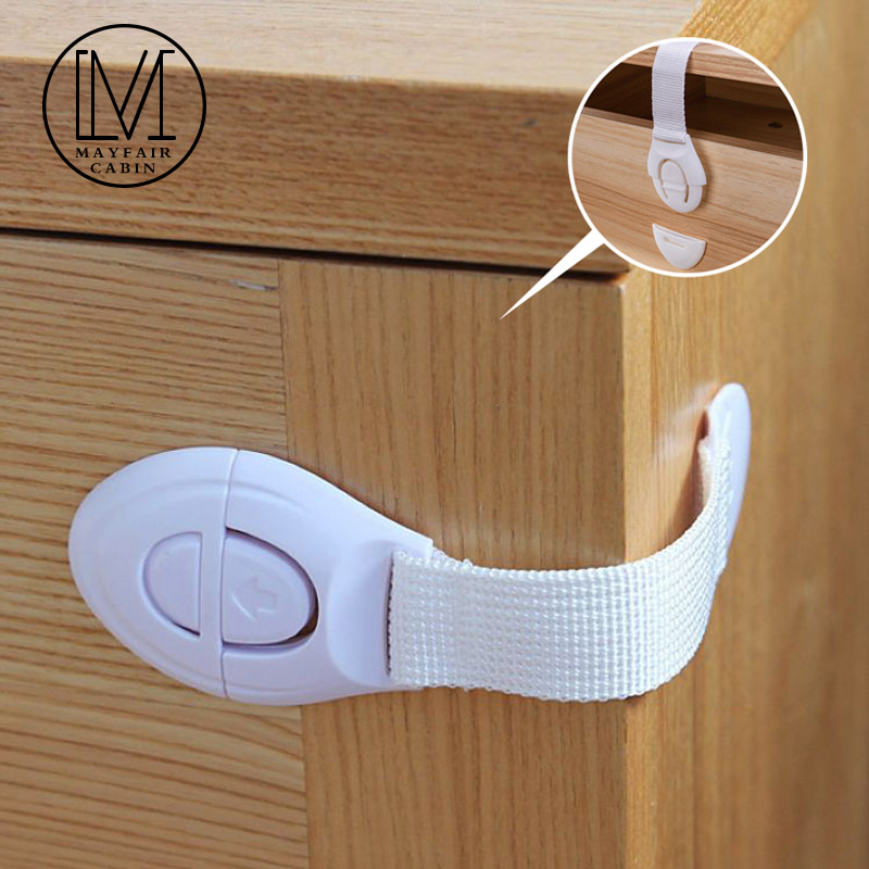5/10Pcs Child Safety Lock Protection For Cabinet Refrigerators Drawer Locks Kids Baby Safety Doors Locks Straps Baby Protection