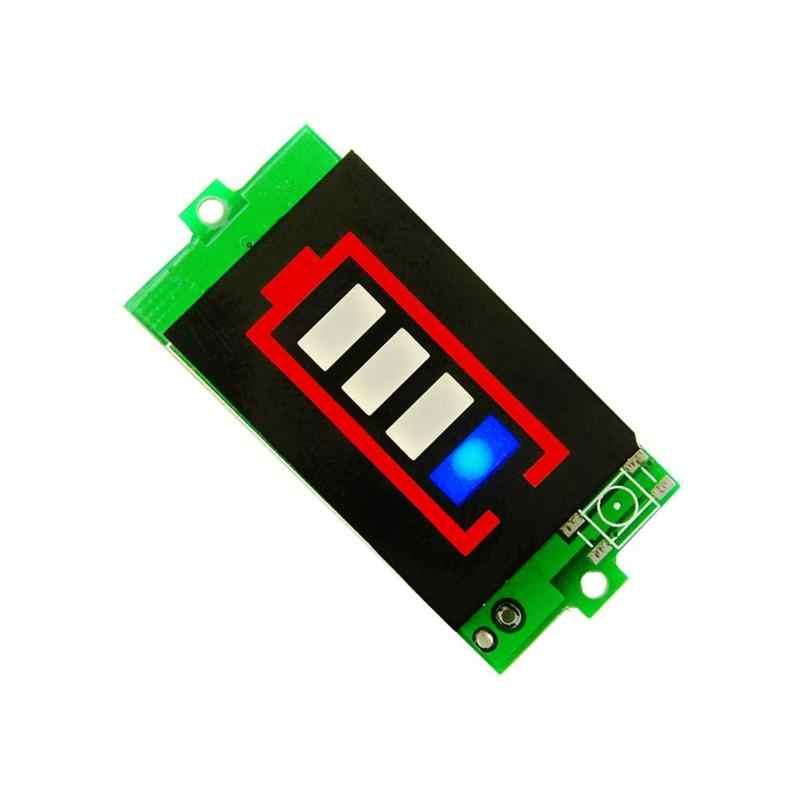 جهاز اختبار بطارية BMS PCB لوح حماية بطارية ليثيوم قدرة مؤشر 1S 3S 4.2 فولت/12.6 فولت الجهد متر وحدة عرض فاحص