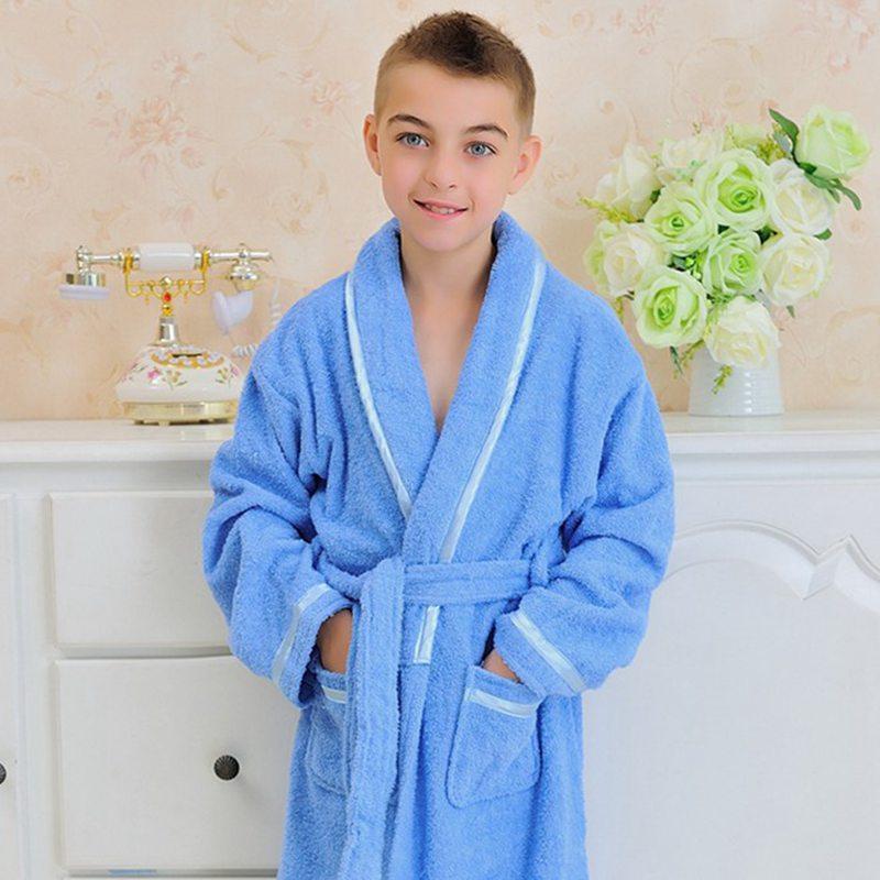 Mutter & Kinder Offen 2018new Mode Kinder Bademäntel Herbst Und Winter Kinder Kleidung Kind Roben