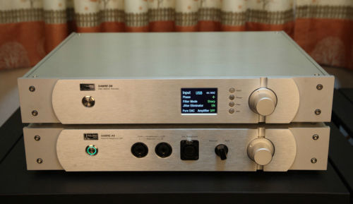 Amplificateur de casque YULONG D8 ESS9018 DSD 32Bit 384 KHZ DAC DA8 version améliorée