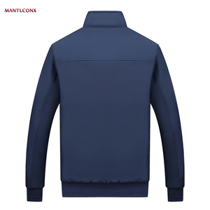 Image 4 - MANTLCONX Winter Jacket Men 2020 브랜드 캐주얼 남성 자켓 및 코트 두꺼운 남성 Outwear Jacket 남성 의류 Fleece Thicken Coats