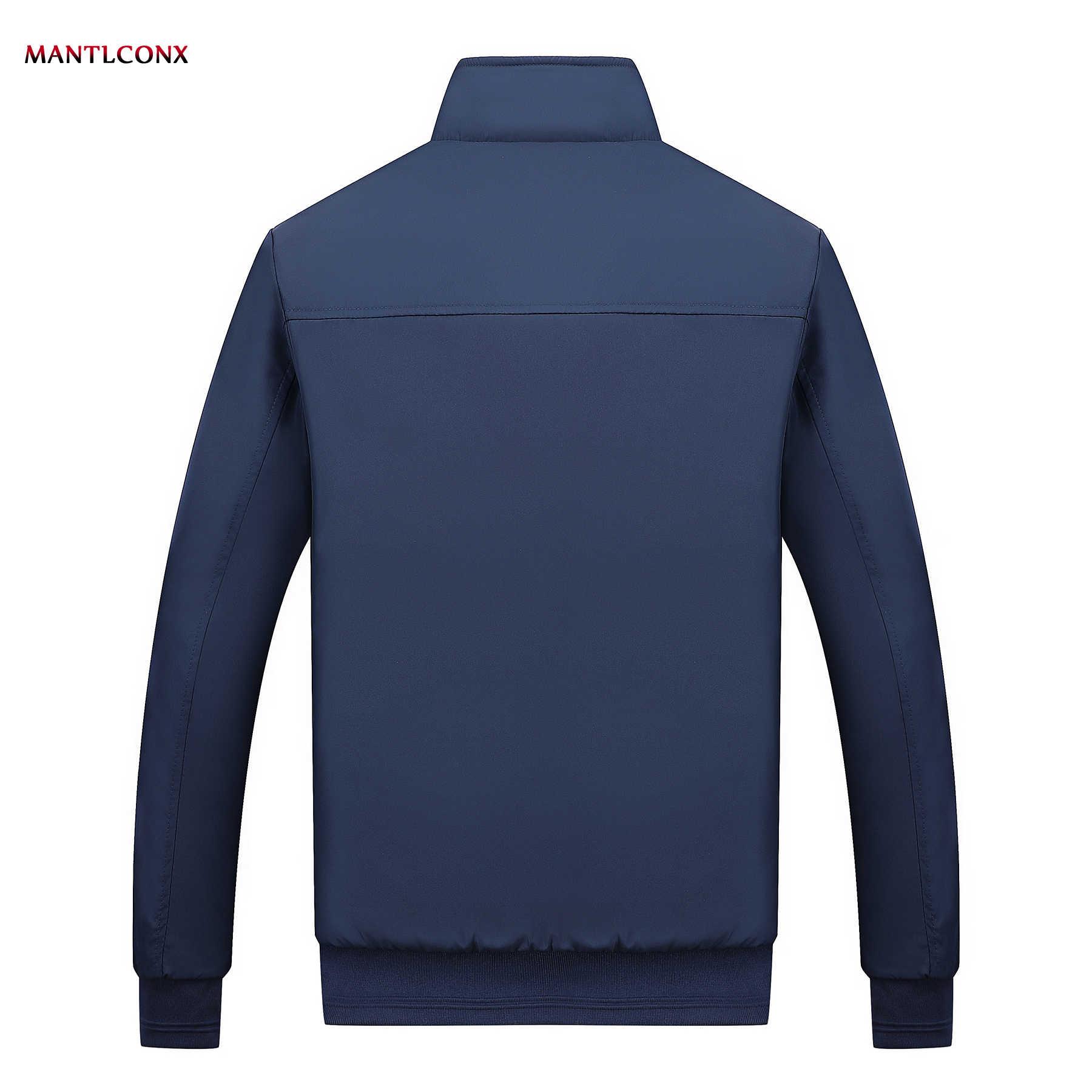 MANTLCONX Winter Jacket Men 2020 브랜드 캐주얼 남성 자켓 및 코트 두꺼운 남성 Outwear Jacket 남성 의류 Fleece Thicken Coats