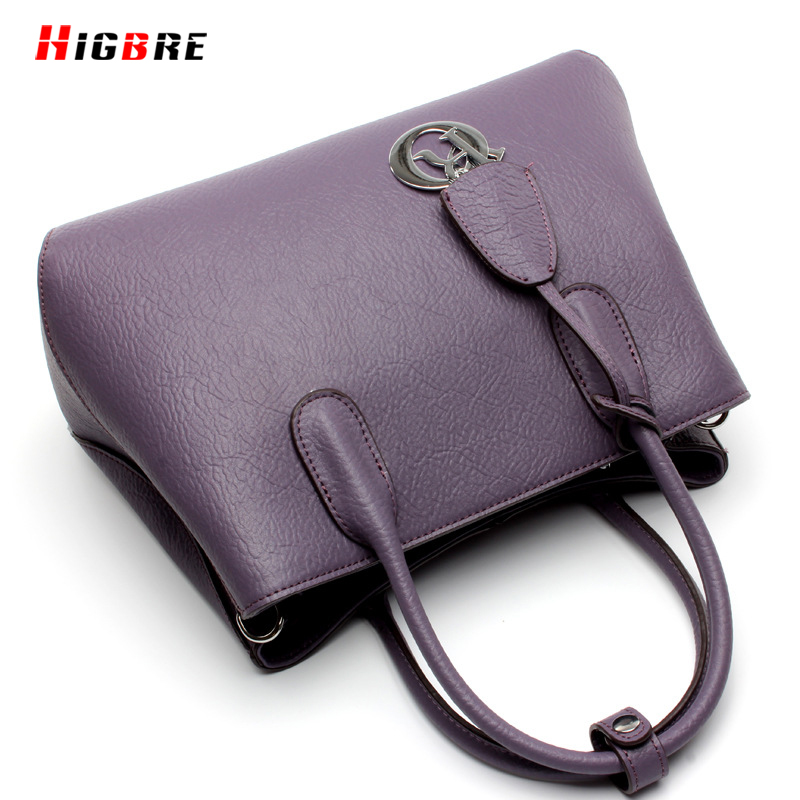ФОТО 2017 New Bag Women Spring Simple Fashion Handbags Messenger Bags Female Purse Famous Brand Solid Shoulder Bag High Quality Totes