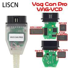 цены на Professiona VAG CAN PRO CAN BUS+UDS+K-line S.W Version V5.5.1 VAG OBD VCP Scanner obd 2 car diagnostic scanner tool  в интернет-магазинах