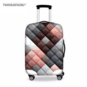 Утолщенный чехол для чемоданов для путешествий, защитный чехол для чемоданов 18-30 дюймов, водонепроницаемый эластичный чехол для чемоданов, ...