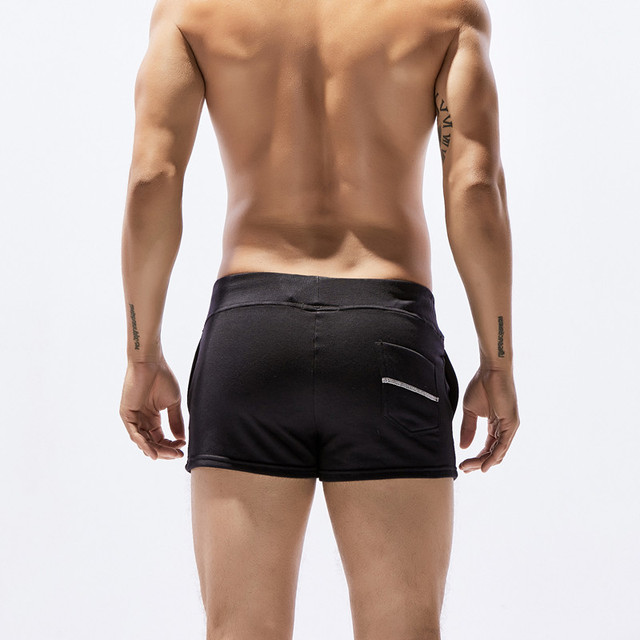 New seobean Men's shorts casual shorts cotton summer fashion home shorts 6 colors S/M/L/XL